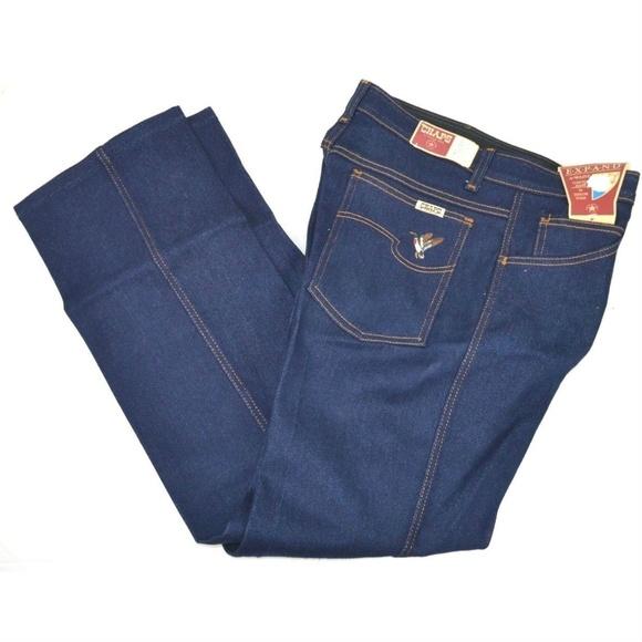 41e85cecf8015b Vintage Jeans | Vtg Chaps Expand A Waist Blue 32x30 Usa | Poshmark